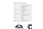 LG Sonic MPC-Buoy For Controlling and Monitoring Algae - Technical Specifications