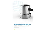 Prevent Biofouling with the LG Sonic Industrial Line brochure