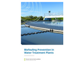 Biofouling Prevention in Water Treatment Plants - Brochure