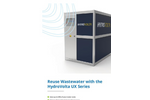 HydroVolta UX Series For Reusing Wastewater - Brochure