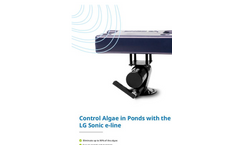 Control Algae in Ponds with the LG Sonic e-line brochure