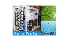 PURE WATERS, Reverse Osmosis, Potable Water Treatment