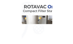 Rotavac One - Complete Compact Pilot Scale Filter Station - Brochure