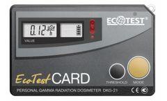 EcotestCARD - Model DKG-21 - Personal Gamma Radiation Dosimeter