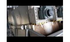 PWTech ES353[2] Volute Dewatering Press - Video