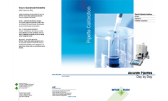 Accurate Pipettes Day by Day Brochure
