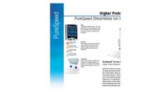 PureSpeed - Ion Exchange Tips Datasheet