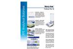 XPE Analytical Balances - Datasheet