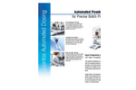 Autosampler QS30 Fully Automated Dosing for XPE Analytical Balances - Datasheet