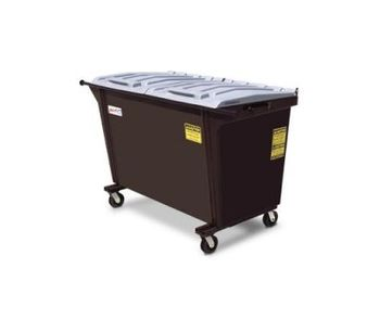 AmeriKan - Model Straight 150 - Rear Loading Containers