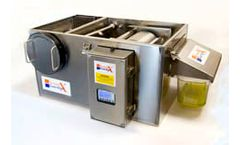 GGX Grease - Model X15 - Trap and Grease Removal Unit for Pre-rinse and potwash Sinks and Ovens