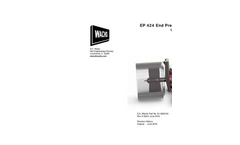 EP - 424 - End Prep Bevelers - Manual