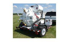 Wachs - Utility Hydro-Vac Trailer, Diesel