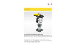 Wacker Neuson - Model BS50-2 BS60-2 - 2 Stroke Rammer - Brochure