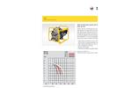 Wacker Neuson - Model PT3 - Self Priming Trash Pumps Datasheet
