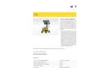 Wacker Neuson - Model ML440 - Compact Size and Light Weight Light Tower Datasheet