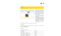 Wacker Neuson - Model MP15 - Single Direction Vibratory Plates Datasheet