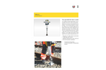 Wacker Neuson - Model BH55rw - Gasoline Demolition Hammer Datasheet