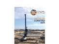 Geotechnical Construction Services