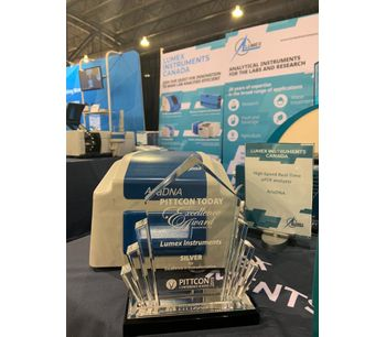 Lumex Instruments Receive the Pittcon Today Excellence Award