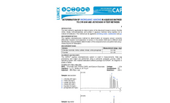 Application - Determination of inorganic anions in aqueous matrices according to EPA 6500 and ASTM D6508-10 test methods