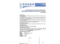 Application - Determination of synthetic amino acids (methionine, threonine, tryptophan) in fodder additives using Capel-105