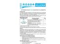 Determination of zinc in water by fluorimetric method