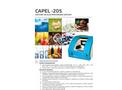 Sistema de Electroforesis Capilar Capel-205