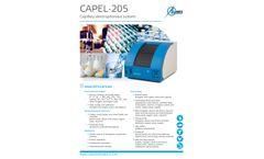 Capel-205 Capillary Electrophoresis System - Brochure