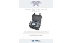 TAPI - Model T753U - Portable Trace-Level O3 Calibrator - Specification Sheet