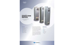 TAPI - Model CAT-03 Series - Catalytic Ozone Destructs - Specification Sheet