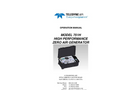 TAPI - Model 751H - Portable Zero Air System - Manual
