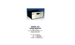 TAPI - Model 454 - Process Ozone Monitor - Manual