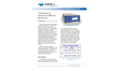 T300 Series for Extractive CEMS CO Monitoring - Application Note