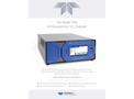 TAPI - Model T100 - UV Fluorescence SO2 Analyzer - Specification Sheet