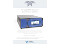 TAPI - Model T700U - Trace-Level Dynamic Dilution Calibrator - Specification Sheet