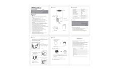 Mosclean - Model AS1 - Germ Sterilizing Air Freshner Manual