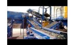 Recycling System for WEEE, Scrap, Ash Video