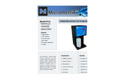 Model PCA - Particle Charge Analyzer Brochure