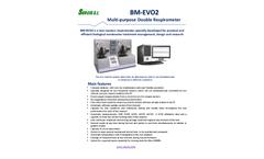 BM--EVO2 Multi-purpose Double Respirometer - Brochure