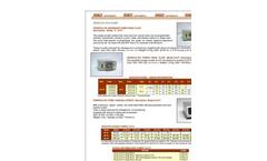 Peristaltic Dispenser Pumps (Fixed Flow) Data Sheet (PDF 70 KB)