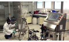 Automated Packing - Prochrom-Bio Chromatography Column - Video