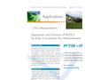 BVOC Flux Measurements with IONICON PTR-TOF 8000 - Brochure