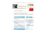 Illicit Substances Detection with PTR-MS Application - Brochure