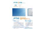 IONICON High-Sensitivity PTR-QMS 500 - Brochure