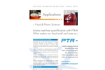 Food and Flavor Science Application - Brochure