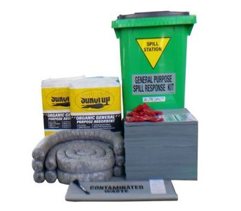 Model 240 Litres - Compliant General Purpose Spill Kit