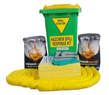 AusSpill - Model 120 Litre - Hazchem Spill Kit - Quality Compliant