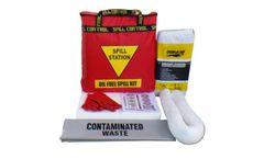 AusSpill - Model 20 Litre - Oil Fuel Spill Kit - Quality Compliant