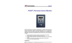 2B-Technologies - Model 211 - Scrubberless Ozone Monitor - Brochure
